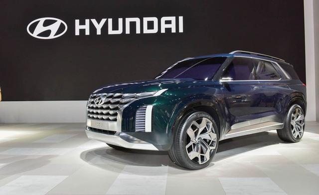 Hyundai sắp có đối trọng cho Ford Explorer