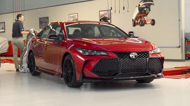Toyota Camry sẽ có phiên bản TRD